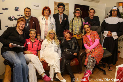 Die Theatergruppe des Carneval Clubs Eich begeisterte das Publikum im Weißen Roß.