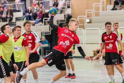 Nummer 5 Philipp Weber für die TG Osthofen