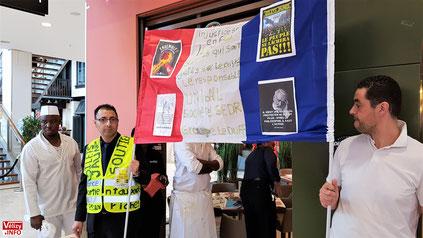 Les salariés de Del Arte du Centre commercial Vélizy 2 en grève.