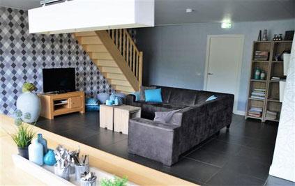Te huur groepsaccommodatie voor 28 personen met sauna, hottub, recreatieruimte en internet in Paaslo!