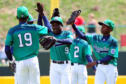 La squadra Ugandese alle Little League World Series (ALEX TRAUTWIG VIA GETTY IMAGES)