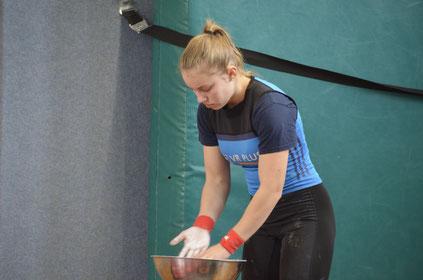 Marie Fähsecke, Bundeskader, Sport