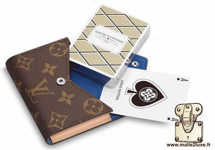 Cartes à jouer et pochette Arsène Louis Vuitton G10014