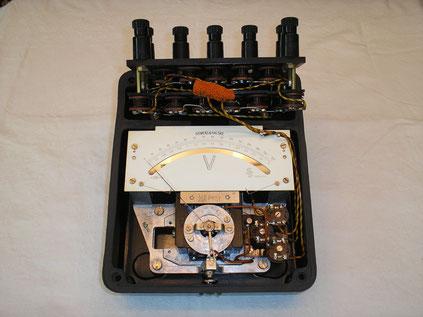 Labor Voltmeter Gleichspannung bis 750 Volt - Fertigungsjahr ca. 1936