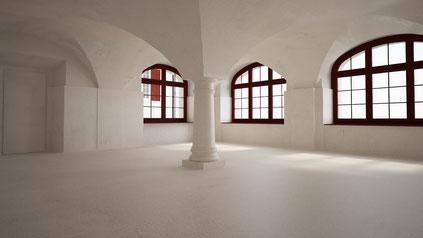 Cantina con soffitto voltato realizzata con ArchiCAD