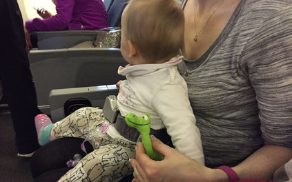 Fliegen mit Baby und Loop-Belt