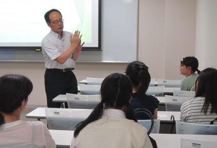 体験授業:中村克己先生(管楽器)