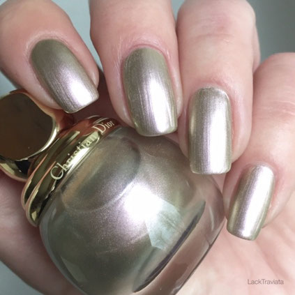 swatch Dior Diorific GRIS-OR 227 State of Gold Collection 2015