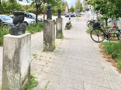Skulpturenallee - Kunst im öffentlichen Raum in Bremen Obervieland (zwischen Theodor-Billroth-Straße und Gorsemannstraße) (Foto: 05-2020, Jens Schmidt)
