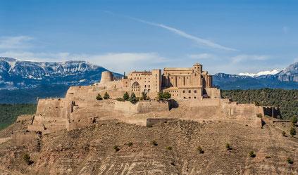 Un dels escenaris del llibre, el Castell de Cardona (perdó, volia dir el Castell de Sal)