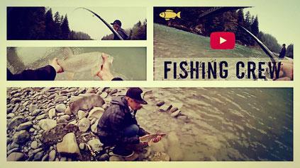 Fishing Crew - Barbenfischen an der Bregenzerach