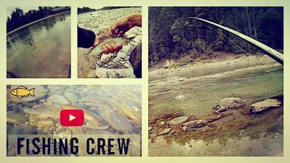 Fishing Crew - Mit der Wasserkugel und Nymphen unterwegs an der Bregenzerach auf Salmoniden