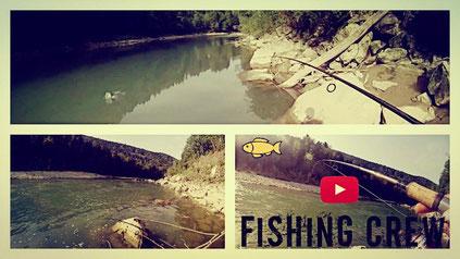 Fishing Crew - Spinnfischen auf Salmoniden an der Bregenzerach