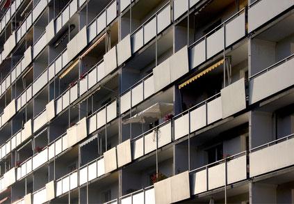 Hochhaussiedlung Steilshoop Symbolbild
