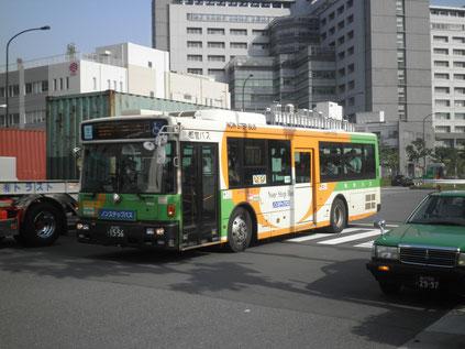 品川入国管理局 品川入国管理局から品川駅へ向かうバス 東京入国管理局での用事を済ませて...