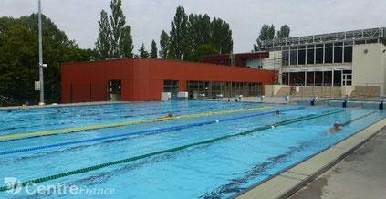 Bourges piscine intérieur et extérieur