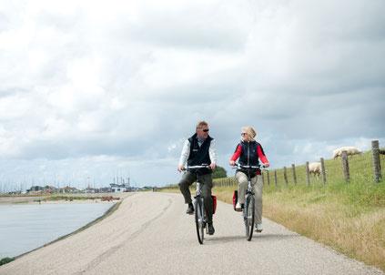 Boat Bike Tours Fahrradtour IJsselmeer