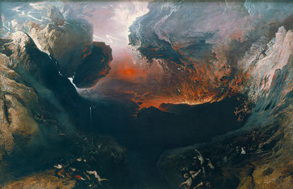 La fin du monde, John Martin