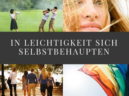 Coachingprogramm von Martina M. Schuster: Sich selbstbehaupten.