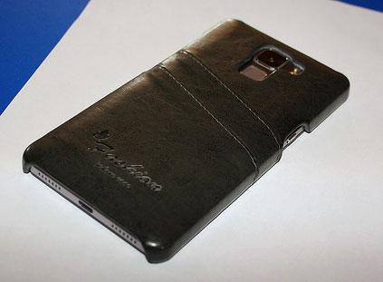 Die tinxi PU Kunstleder Handyhülle für das Huawei Honor 7 ist praktisch, gut verarbeitet und sieht top aus.