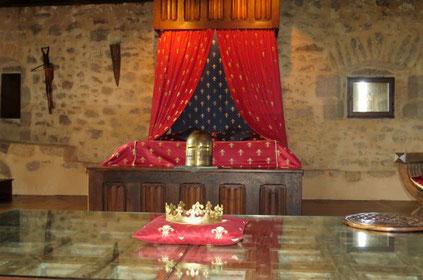 Nuit insolite en  Chambre Royale