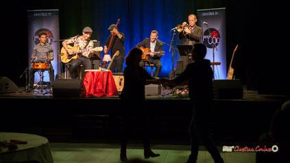Soirée JAZZ360 avec The Rix'tet (jazz swing), salle culturelle de Cénac le samedi 5 octobre 2019