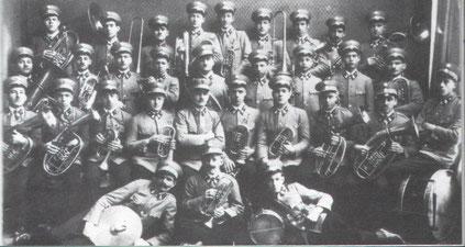 """1931: Arbeitermusikkkapelle """"Vorwärts"""""""