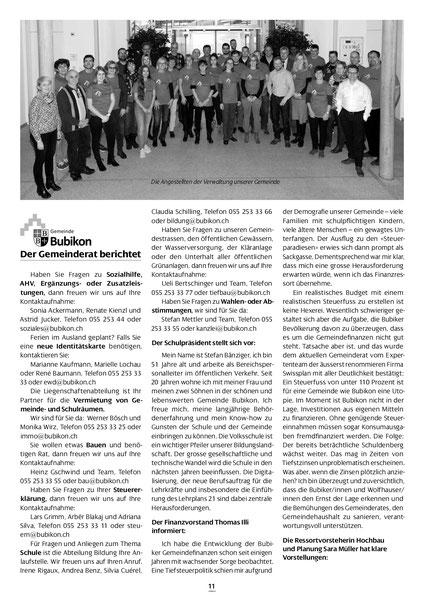 """""""Gemeindezeitung"""" März 2019"""