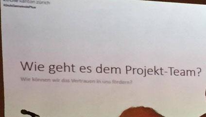 Warb um Vertrauen, erntete aber Buh-Rufe: Projektteam für KG+ im Bezirk Hinwil
