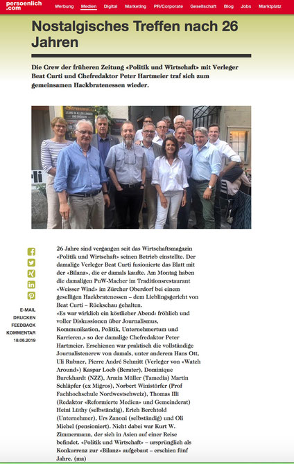 persoenlich.com, 19. Juni 2019