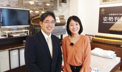 KBCテレビ アナウンサーの髙﨑恵理さん