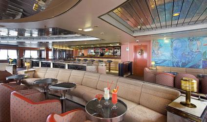 The Merrion Lounge on board Oscar Wilde.