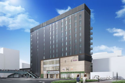 菱和パレス 高輪TOWER 管理組合ブログ_五反田駅の東口に10階建ての新しいビルが建設中