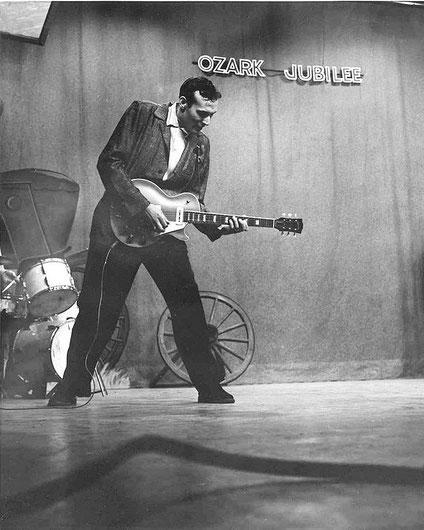 Carl Perkins à l'Ozark Jubilee.