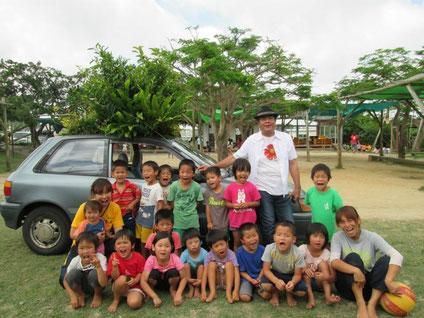 最強の友達、沖縄の知念さんと知念CAR