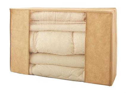 お貸出しさせて頂くお布団を梱包した状態のイメージ