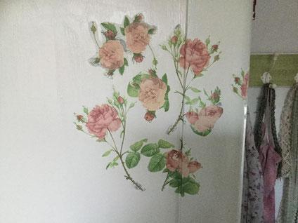 Kreidefarben auf Möbeln