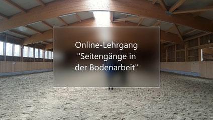 Vorschau Online Kurs Seitengänge in der Bodenarbeit