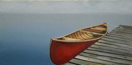 """CANED SEATS""  10"" X 20""   SOLD"