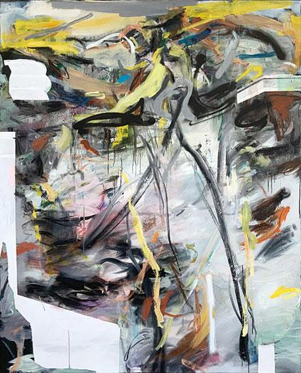 Martin-Mohr-Vivarium-2021-Acryl-Lack-und Öl-auf-Baumwolle-170x140-cm