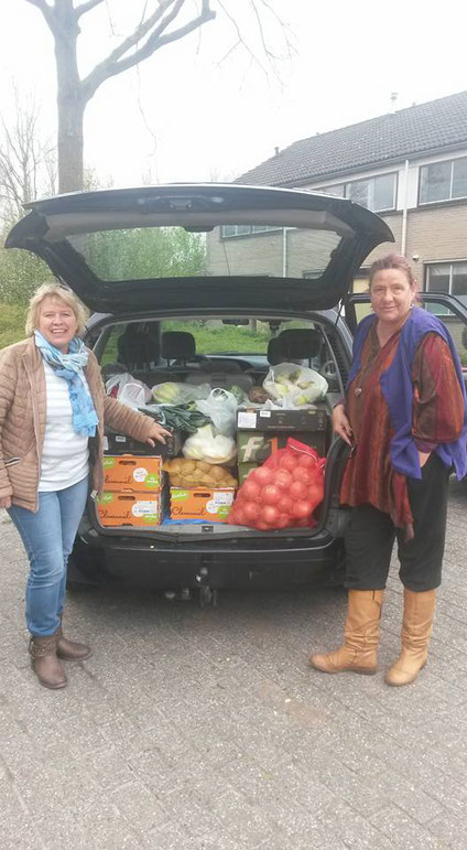 Voedsel hulp in Emmen
