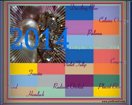 Perltrend Trend Farben Frühjahr/Sommer 2014