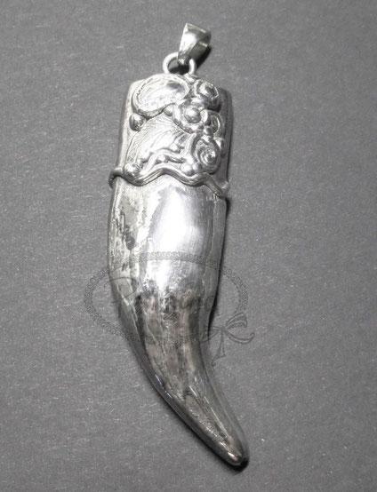 www.perltrend.com Anhänger Horn Silber 925 Glücksbringer