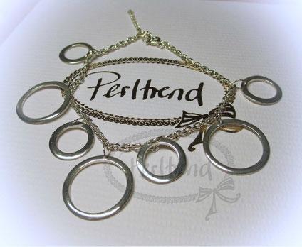www.perltrend.com Armschmuck Armkette Silber 925 mit Anhänger Rings Schmuck Jewellery Jewelry Onlineshop Perltrend Luzern Schweiz Silberschmuck