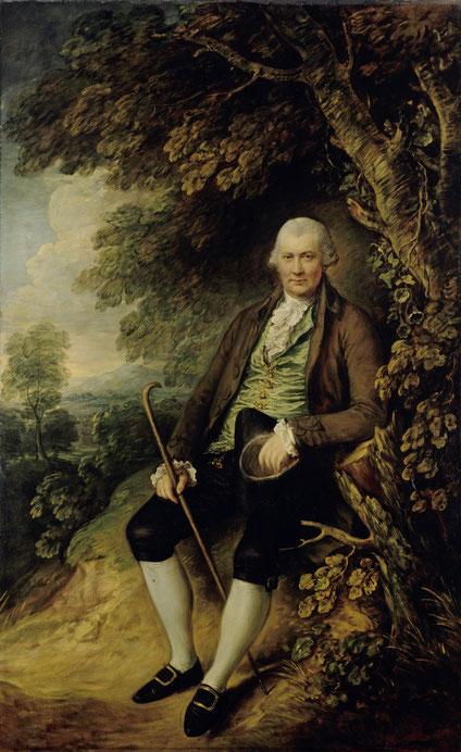 Thomas Gainsborough, Bildnis des John Wilkinson, Gemäldegalerie, Staatliche Museen zu Berlin. Foto: Jörg P. Anders