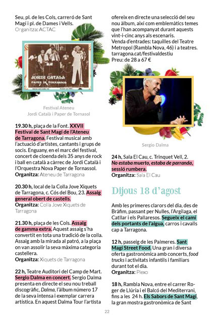 Fiestas en Tarragona Festes de Sant Magí
