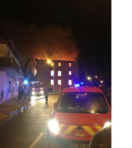 Incendie du 4 Décembre 2012.