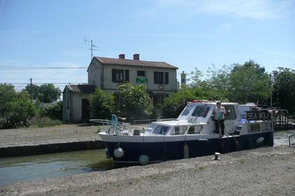 La maison éclusière de Bordeneuve N°5, aujourd'hui.