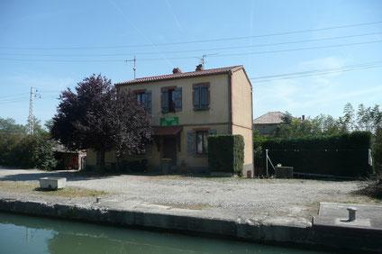 La maison éclusière de Lespinasse N°4, aujourd'hui.