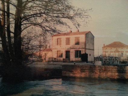 La maison éclusière de Lespinasse N°4, Avril 1984.